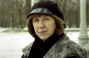 Belarussian writer Svetlana Alexievich is seen in this undated photo in Minsk, Belarus. Alexievich won the 2015 Nobel Prize for Literature, the award-giving body announced on October 8, 2015. REUTERS/Vasily Fedosenko