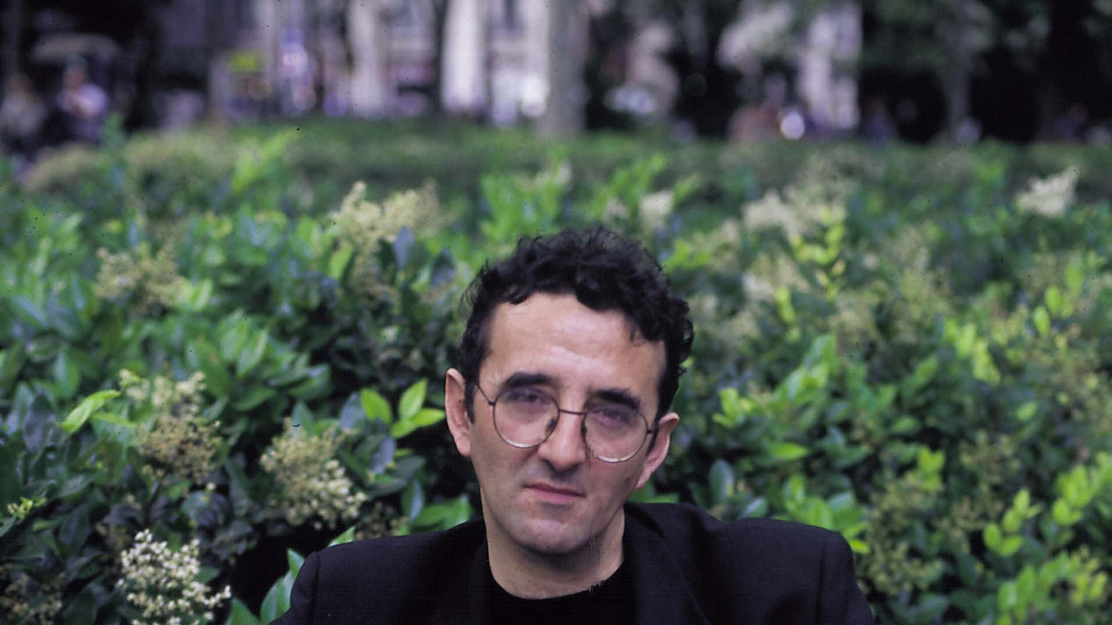 ROBERTO BOLANO, WRITER  Credit:  Luzphoto/Getty Images