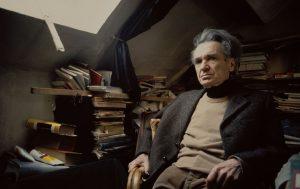 Cioran, Emile écrivain et philosophe francoroumain; Rasinari (Transylvanie) 8.4.1911-Paris 20.6.1995. Portrait, 1982. Année de l'évènement:1982 Année de l'oeuvre:1982