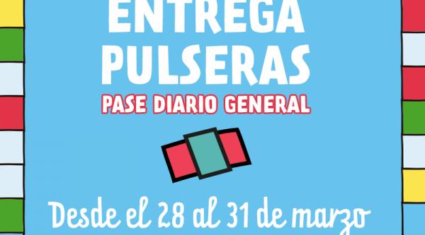 Lollapalooza informa: entrega de pulseras comienza el 28 de marzo
