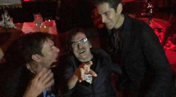 Charly García y Duran Duran le cantaron el cumpleaños a Perry Farrell