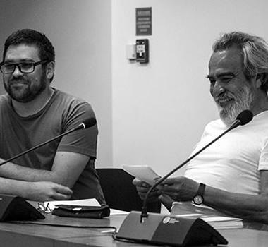 Presentación aleatoria de <em>El margen de la propia vida</em> de Carlos Cociña