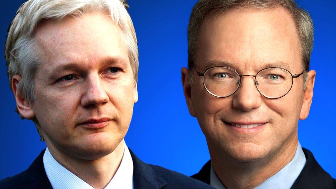 Cuando Google encontró a Julian Assange