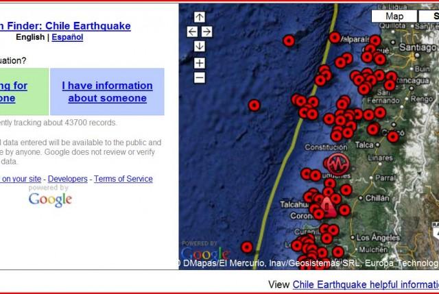 Terremoto: Google y Facebook habilitan funciones para encontrar personas